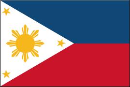 セブ現地採用 フィリピン国旗
