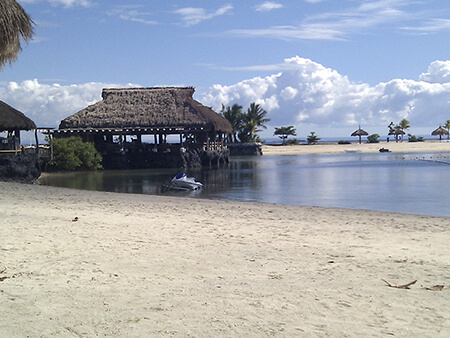 セブ島のリゾートエリアその1