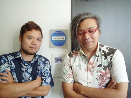 サイバーテック沖縄のマネージャたち。